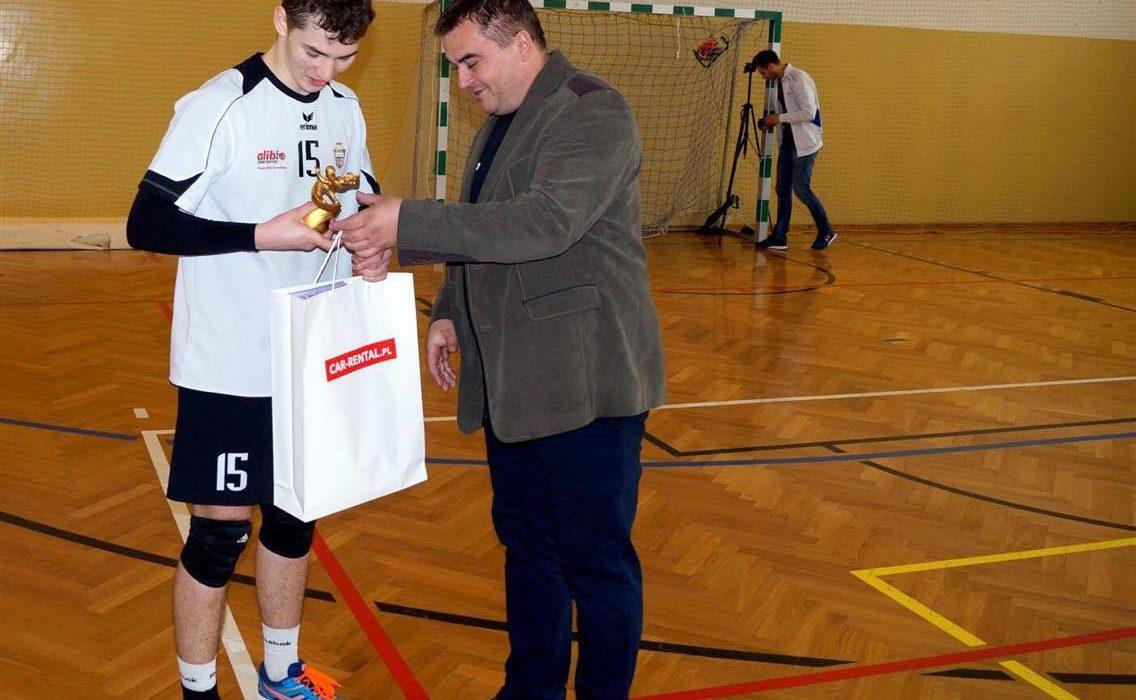 Libero Cisów przyćmił zawodnika z PlusLigi