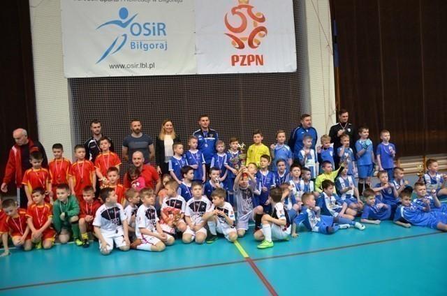 Żacy zakończyli cykl halowych turniejów w Biłgoraju