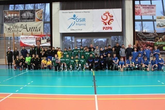 Halowe turnieje w Biłgoraju