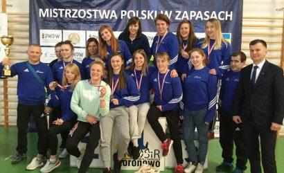 Chełmianki zdominowały mistrzostwa Polski w zapasach!