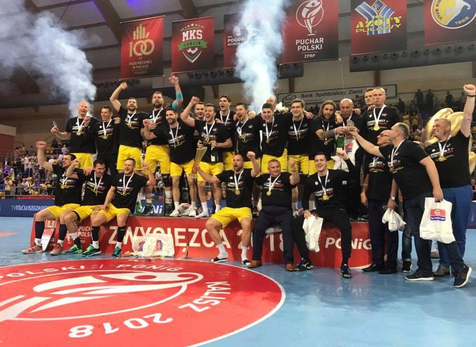 Puchar Polski ponownie wędruje do Kielc. Dobra pierwsza połowa Azotów