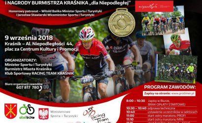 Wybieram kolarstwo – wykluczam nałogi, czyli V ogólnopolski maraton kolarski MTB