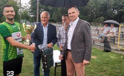 Huczwa Tyszowce z Pucharem Starosty Tomaszowskiego