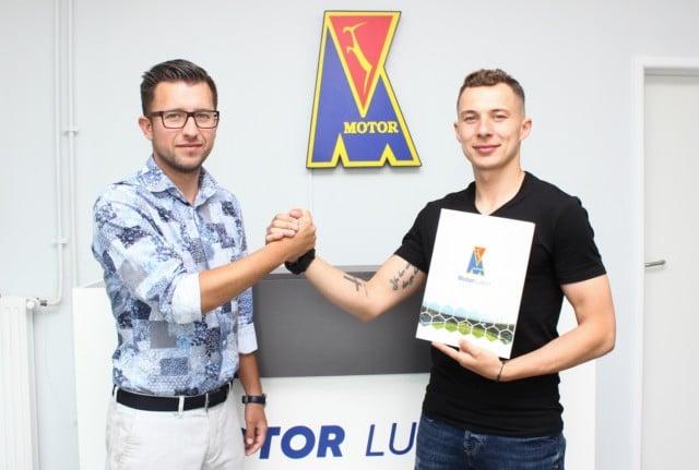 Adam Nowak nowym zawodnikiem Motoru!