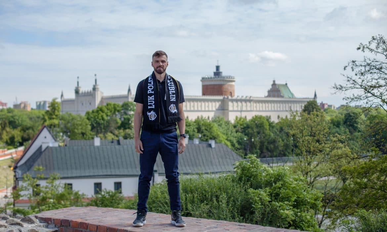 Jakub Wachnik zasilił LUK Politechnikę Lublin