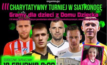 Pora na trzecią edycję charytatywnego turnieju siatkonogi w Kraśniku