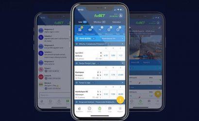 forBET aplikacja – jak pobrać i odebrać bonus powitalny?